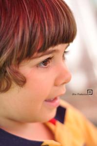 boy smiiling in kids portrait