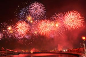 Marina Bay Fireworks