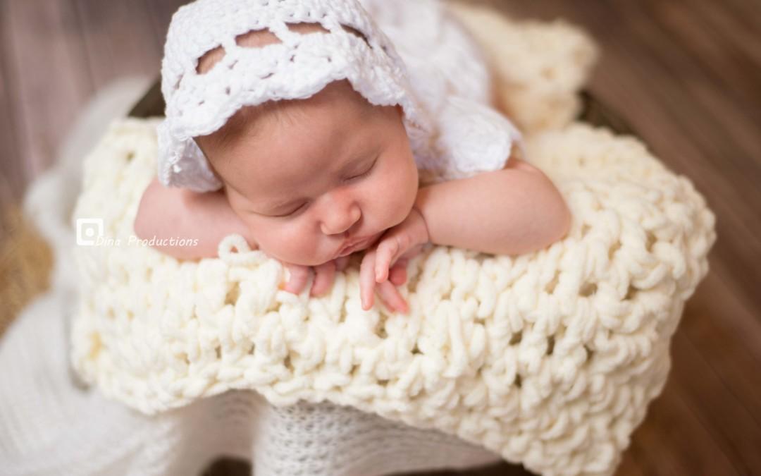 Baby girl Rory- newborn photoshoot