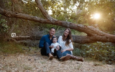 Family Photoshoot of Sandra, Clyde and Quest
