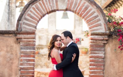 Adriana & Daniel | Mission San Juan Capistrano Engagement